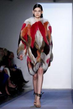 Patchwork fur. @Peter Som | FW2012 #NYFW