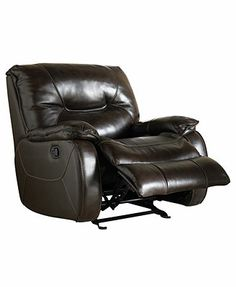 Dante Leather Glider Recliner Chair