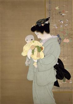 Mother and Child (1934) The National Museum of Modern Art, Tokyo.