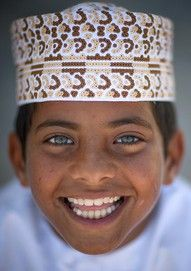 A boy from Oman. (Oman, Middle East)