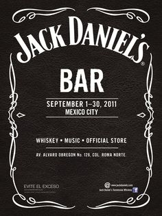 161º aniversario de Jack Daniel's y apertura de Jack Daniel's Bar