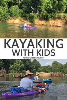 Kayak Tips For Beginners Kayaking with kids is an enjoyable family adventure that's great for body and soul. Tips for beginners, including gear and where to get out on the water. Canoe Camping, Canoe And Kayak, Kayak Fishing, Kids Kayak, Camping List, Canoe Trip, Kayaking Quotes, Kayaking Tips, Kayaking Outfit