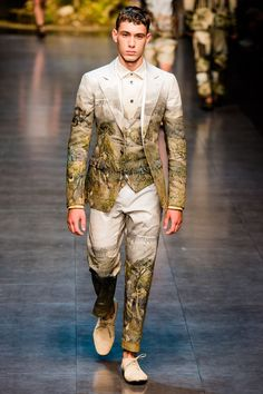 Pitti Uomo: Dolce & Gabbana - Spring 2014