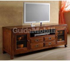 Risultati immagini per mobile soggiorno tv legno