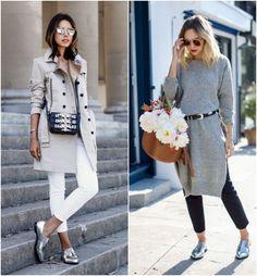 calçados metalizados moda para todos
