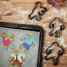 Zombie Cookie Cutters (Firebox.com) - you could go one step further by baking and decorating a batch of cookies to give as the gift (with or without the cutters).