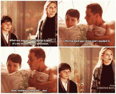 "Emma & Henry walk in on Mary-Margaret & David in ""The Cricket Game"" 