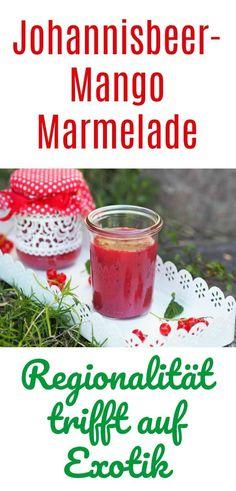 Ich habe eine ganz große Schwäche für Marmelade...und da ich so viele rote Johannisbeeren im Garten geerntet habe, habe ich diese mit der leckeren Mango zu einer Johannisbeer-Mango-Marmelade vereint. Im Thermomix ein Kinderspiel.
