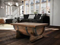 Exclusive bench in the sailor style! Check it! Ekskluzywna ława w stylu marynarskim! Sprawdź! #bench #coffeetable