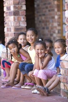 Children from Port Elizabeth, Eastern Cape, South Africa