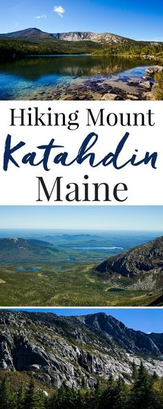 Have you ever hiked Mount Katahdin in Maine? It's the Northern terminal of the…