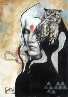 Shaman from Art by Patricia Ariel