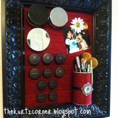 Laura Thoughts: Make-up Magnet Board Round-up