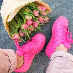tênis rosa