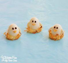 Baby Bird Eggs in Hash Brown Nests
