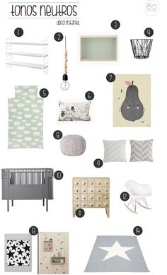 DECORACION.FACILISIMO.COM - Decoración unisex en dormitorios infantiles. 4-Canasto Wire Basket de ferm LIVING. 5-Funda nórdica Cloud Mint Junior de ferm LIVING. 13-Vinilo Mini Stars Wallsticker Black de ferm LIVING. 14-Alfombra Viggo Star Large Metallic Blue Vanilla de Pappelina. http://www.ottoyanna.com/