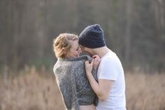 Adorable Winter Engagement Shoot by Christie Graham Photography