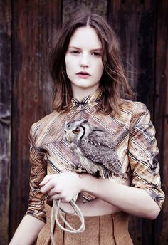 {birds of a feather} fashion with a side of owl :)