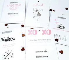 """Tutorial Time: Team Mitglied @herz.schere.papier zeigt dir wie die gestempelte """"Liebeserklärung"""" an ihre beste Freundin entstanden ist bereits am vergangenen Freitag aufm #papierprojekt Blog."""