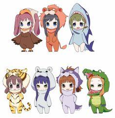 Wake Up, Girls! Anime Gets Animal Mascot Spinoff Shorts