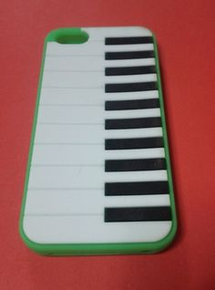 Piano Silicone Case for Apple iPhone 5/5S