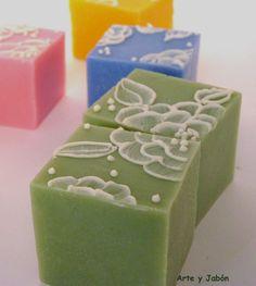 El arte del jabón: lace soap