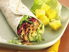 Slow Cooker Turkey, Bacon and Avocado Wraps