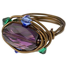 Mother's Love Ring | Fusion Beads Inspiration Gallery #mothersday