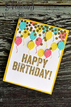 nice people STAMP!: Birthday Surprise Card: Stampin' Up! Artisan Blog Hop