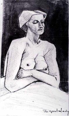Vincent Van Gogh - Post Impressionism - The Great Lady - La Haye