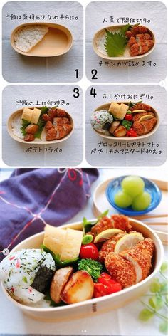 Food To Go, Good Food, Food And Drink, Real Food Recipes, Cooking Recipes, Healthy Recipes, Kids Meals, Easy Meals, Bento Recipes