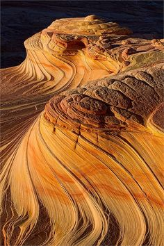 Sandstone Waves in Coyote Buttes North, Arizona  #travel #america #Arizona