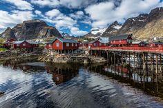 Å, Moskenes, Lofoten, Norway (Europe Trotter / Paris / France) #Canon EOS 5D Mark III #landscape #photo #nature