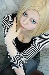 Android 18 from Dragon Ball Z cosplay! Cosplay Anime, Epic Cosplay, Male Cosplay, Amazing Cosplay, Cosplay Girls, Cosplay Costumes, Dragon Ball Z, Android 18 Cosplay, Real Anime