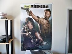 I have this poster from The Walking Dead hanging on my wall.