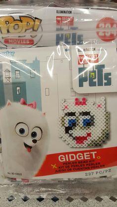 The Secret Life of Pets Gidget perler beads kit