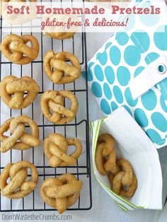 Recipe: Soft Easy Homemade Pretzels | a delicious recipe that you can make with the kids, and DOESN'T include anything artificial like the store-bought! :: DontWastetheCrumbs.com #realfood #recipe #snack