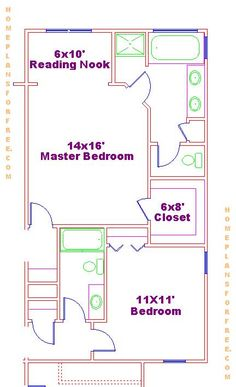 Free 14x16 Master Bedroom Layout Ideas With Reading Nook and Large ...