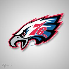 NFL X NBA Logos  by Brandon Hubschman, via Behance
