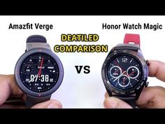 Amazfit Verge vs Honor Watch Magic | which is Best Sports Smartwatch of the Year ? - YouTube Seiko Watches, Smartwatch, Magic, Sports, Youtube, Random, Accessories, Jewelry, Smart Watch