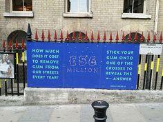 Gum3 Hubbub's Brilliant Designs are Reducing London's Street Litter - BOOOOOOOM! - CREATE * INSPIRE * COMMUNITY * ART * DESIGN * MUSIC * FILM * PHOTO * PROJECTS