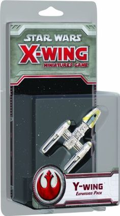 Star Wars X-Wing: Y-Wing Expansion Pack by Fantasy Flight Games,  Could go for two more of these.  http://www.amazon.com/dp/1616613793/ref=cm_sw_r_pi_dp_4lqssb0HQHB3A