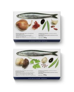 #packaging #design Canned anchovies | ruiz + company PD