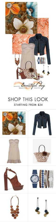 """""""Untitled #454"""" by melissa-mcvey-courtemanche ❤ liked on Polyvore featuring LE3NO, Paul & Joe, WithChic, Aquazzura, Jessica Carlyle, Mata Traders and Honora"""