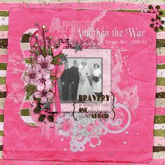 "I love the Font Challenge as I get to add another font to my huge selection. This is font Black Chancery<br /><br /><br />Photo of my Aunts wedding with my Mother her Matron of Honour<br /> Created with Military Girl Bundle by designer Andrea Gold here at GDS. This bundle and kit can be used so many ways and has a mix of beautiful camo papers and military colours with a rich hot pink pop and a dash of glitter.  <a rel=""nofollow""…"