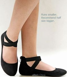02292773e728c New Women AD2S Black Mary Jane Ankle Strap Ballet Flats sz 5 to 10  Unknown