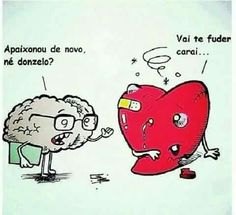 Cérebro x coração