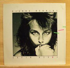 GIANNA NANNINI - Latin Lover - mint Vinyl LP -Primadonna Fumetto Italo Disco Pop