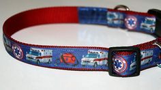 Emergency Services EMT Paramedic Ribbon Dog by SmilingPupDesigns, $16.99