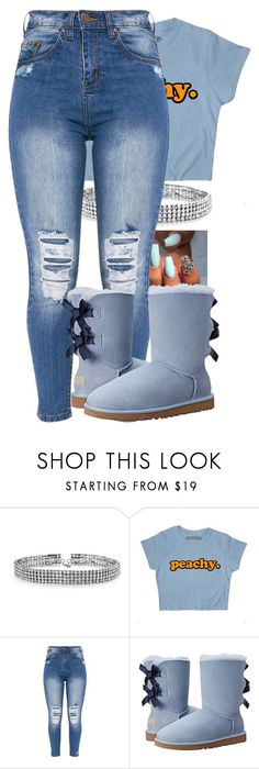 """""""2/12/17 - Contest Entry"""" by monet-princessa ❤ liked on Polyvore featuring Bling Jewelry and UGG Australia"""
